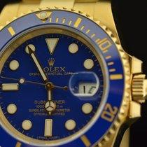 Rolex SUBMARINER CERAMICA GOLD 116618 LB NOS