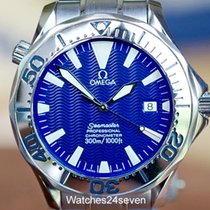 Omega Seamaster Professional 300 meters Electric Blue