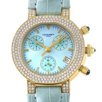 Chaumet Women's Yellow Gold Automatic Chronograph Watch...