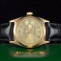 Rolex Datejust Gelbgold/18kt. aus 1966 Referenz 1600