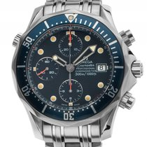 Omega Seamaster Professional Diver Stahl Automatik Chronograph...
