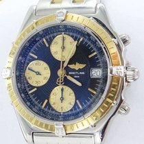 Breitling Chronomat D13352 Automatic 39mm Gold Bezel