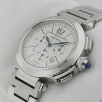 Cartier Pasha 42mm w31085m7 Chronograph Stainless Steel