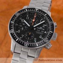 Fortis Flieger B 42 Automatik Chronograph Herrenuhr Fliegeruhr