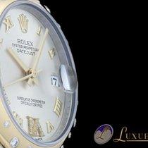勞力士 (Rolex) Datejust 31   18kt Gelbgold/Edelstahl   Diamantbes...