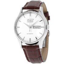 Tissot Visodate T0194301603101 39 Stainless Steel Case Brown...