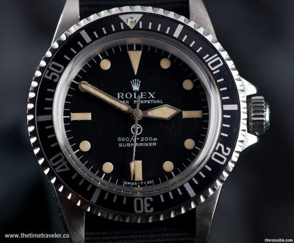 Rolex 5513 military submariner &amp;#34;Milsub&amp;#34;