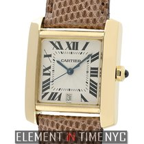 Cartier Tank Collection Tank Francaise 18k Yellow Gold 28mm ...