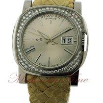Bedat & Co No.8 Ladies, Silver Index Dial, Diamond Bezel -...