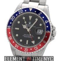 Rolex GMT-Master II Stainless Steel Pepsi Bezel Circa 1999...