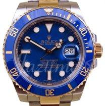 Rolex Submariner 116613 116613LB Ceramic Dark Blue Yellow Gold...