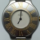 Cartier MUST 21 BICOLOR (GOLD PLATED) MEDIUM SIZE
