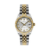 Rolex [NEW] Datejust 31mm 178343 Jubilee Silver Diamond Jub....