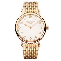 Patek Philippe 7200/1R-001 Rose Gold Ladies Calatrava 34.6mm...