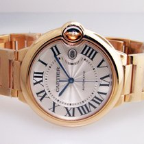 Cartier Ballon Bleu 42 MM 18K Solid Rose Gold Automatic