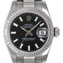 Rolex Ladies Rolex President 18k White Gold Watch 179179
