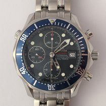 Omega Seamaster Professional 300M Chronograph Blue Dial