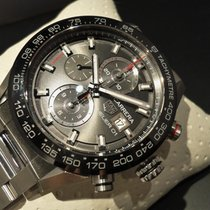 TAG Heuer Ungetragene Carrera Calibre Heuer 01 Chrono 43mm