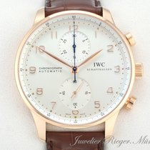 IWC PORTUGIESER ROTGOLD 750 CHRONOGRAPH IW 3714 AUTOMATIK