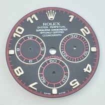 Rolex Zifferblatt Daytona Black Arab  Weissgold 116519 116520