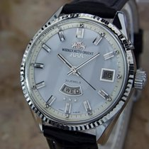 Orient Weekly Auto Orient Made In Japan Day Date Automatic...