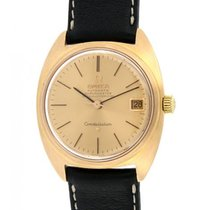 Omega Constellation Yellow Gold, Leather, 34mm