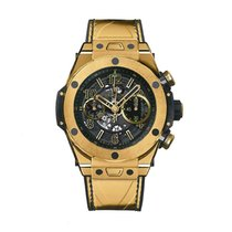 Hublot Big Bang 45mm Unico · Yellow Gold Usain Bolt 411.VX.118...