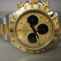 "Rolex Daytona 116523 18k/ss Cosmograph Newman Dial ""z""..."