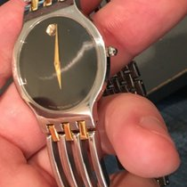 Movado 84 G2 1881 Esperanza Quartz Two Tone Steel 33mm Watch