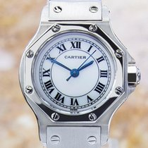 Cartier Santos Solid Stainless Steel Automatic 31mm Unisex...