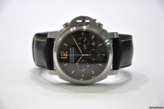 Panerai Daylight &amp;#39;dirty brown&amp;#39; chronograph