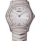 Ebel Classic Wave Mother Of Pearl Dial Stainless Steel Ladies...