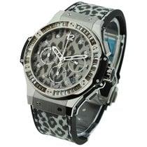 Hublot Big Bang 41mm Steel Snow Leopard