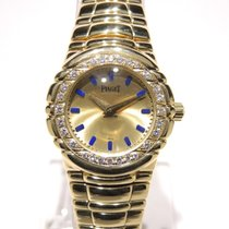 Piaget Tanagra Full 18k gold and bezel set on diamonds