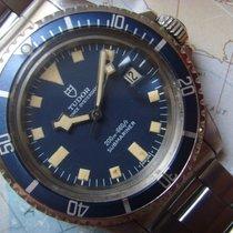Tudor 1970s Stunning BLUE SNOWFLAKE Submariner Date