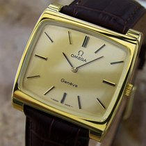 Omega Geneve Swiss Made Manual Cal 620 Gold Plated Mens 1960s...