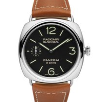 Panerai Radiomir 8 Days Black Seal 45 Mm Pam 609