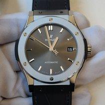 Hublot Classic Fusion Racing Grey 45mm grey dial in titanium...