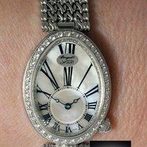 Breguet Reine De Naples 18k White Gold & Diamond Watch...