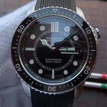 Bremont S500/BK Supermarine Mens Steel 43MM Watch