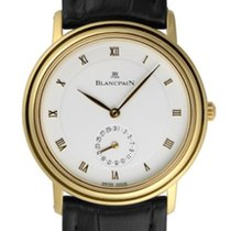 Blancpain 4795-1418-58 Villeret Ultra-Slim in Yellow Gold - on...
