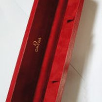 Omega antike Uhrenbox rot