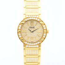 Piaget Yellow Gold Limelight Full Diamond Watch