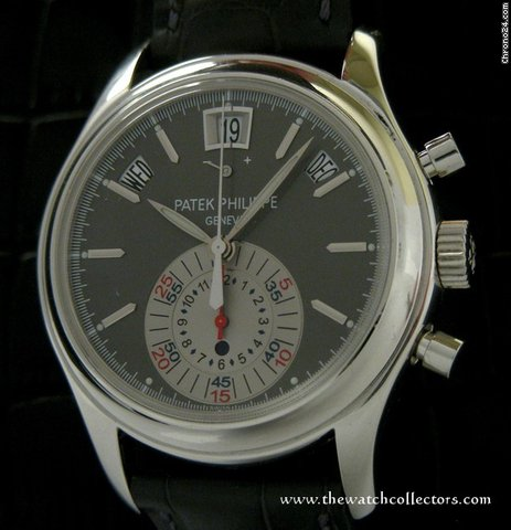 Patek Philippe Platinium Chronograph &amp;#34;Ref.5960 P&amp;#34; Full Set