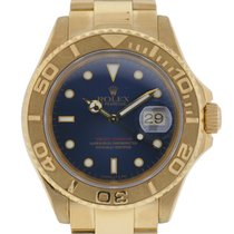 Rolex 18k Yellow Gold Yachtmaster Watch