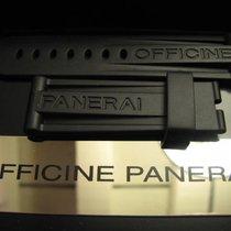 Panerai Rubber strap bracelet 24 mm 24/22 BA 115/75 for tang...