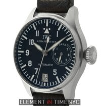 IWC Pilot Collection Big Pilot 7 Day Steel 46mm Slow-Beat...