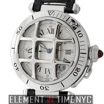 Cartier Pasha Collection Pasha 38mm Steel Grid Limited Edition...