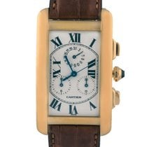 Cartier Tank Americaine Chronoflex