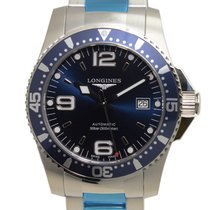 Longines Conquest Stainless Steel Blue Automatic L3.642.4.96.6